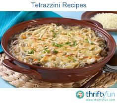 This page contains chicken tetrazzini recipes. Chicken tetrazzini is a delicious pasta dish that you can vary depending on the choice of sauce, cheese, or veggies you add.