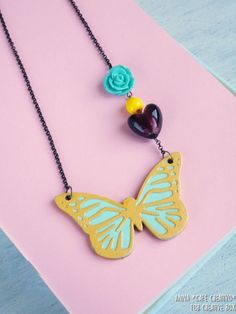 Tutorial Necklace Cardboard using Sizzix Dies and Big Shot