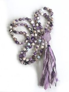 Amethyst Mala Beads Calm An Active Mind Mala Mala Beads 108