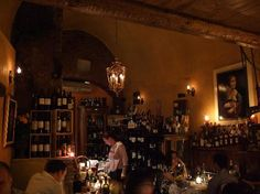 The Library Bistrot in Rome