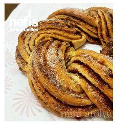 Tarçınlı Çörek (Muhteşem Lezzet) Sausage, French Toast, Food And Drink, Breakfast, Desserts, Recipes, Ali, Noel, Recipe