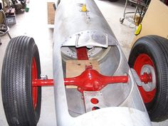 Street-Legal Belly Tanker | Built from a c.1968 US Navy A-7 Corsair II fighter-jet belly-tank.