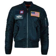 MA-1 Flex Slim Fit Flight Jacket | Alpha Industries