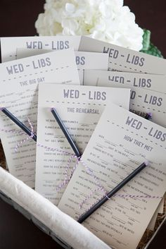 Free wedding Mad-libs Asking for Her Hand, Saying Yes to the Dress, The Bridal Shower