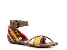 Michael Antonio Dunham Sandal Flat Sandals Sandal Shop Women's Shoes - DSW