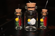 Legend of Zelda Fairy in a bottle charm (for necklace, keyring, earring, etc.) by smARTartBYMcSwish on Etsy
