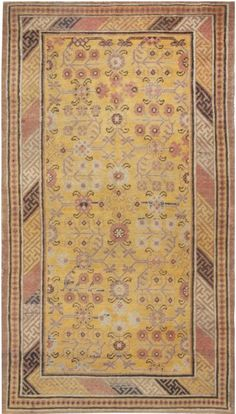 Samarkand Warm Caramel, Camel, Beige and Brown Handwoven Wool Rug by DLB Rugs On Carpet, Carpets, Silk Road, Weaving Techniques, Rugs In Living Room, Wool Rug, Vintage Rugs, Camel, Hand Weaving