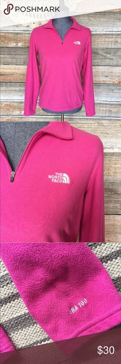 """The North Face Pink Paisley Fleece Pullover Top Bust: 38"""" Length: 24"""" Bundle two or more items and I'll send you a discount! All my items have been freshly washed and steamed  If you have any questions, feel free to message me. Thanks for stopping by and have a lovely day! The North Face Tops Sweatshirts & Hoodies"""
