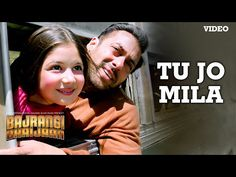 Presenting 'Tu Jo Mila' FULL VIDEO Song in the voice of K. from Salman Khan starer movie Bajrangi Bhaijaan exclusively on T-Series. Bollywood Music Videos, Bollywood Movie Songs, Bollywood News, Hit Songs, News Songs, Love Songs, Music Songs, Indian Movie Songs, Hindi Movie Song
