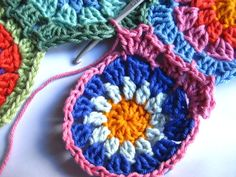 crochet join as you go