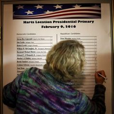 New Hampshire votes in first US presidential primary #Politics #iNewsPhoto