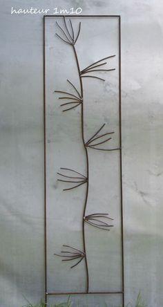 Tuteur de plante et décoration de jardin