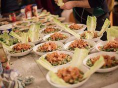 Rezept: Fattoush-Salat nach syrischer Art zubereiten / recipe: Syrian salad via DaWanda.com