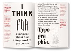 Capturing significant moments from the Czech Republic's oldest type design studio, the Typo 9010 book (by Tomáš Brousil of Briefcase) celebrates digitised Czech typefaces from 1990 to 2010 by uniting them as an encyclopaedic collection.