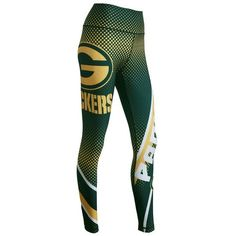 NFL Green Bay Packers Womens Legging- just bought these and I LOVE THEM!