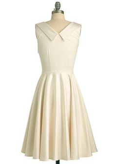 Aisle Be There Dress in Lily, #ModCloth... a great rehearsal dress