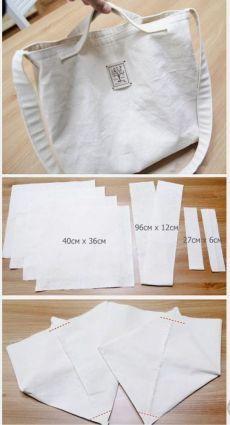 Best 12 ikat bag: Make A Bag Chapter Darted Tote – SkillOfKing. Cotton Shopping Bags, Diy Sac, Diy Bags Purses, Diy Tote Bag, Diy Couture, Linen Bag, Denim Bag, Fabric Bags, Cloth Bags