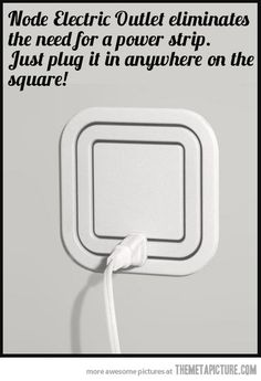 Funny pictures about Awesome gadget: Node Electric Outlet. Oh, and cool pics about Awesome gadget: Node Electric Outlet. Also, Awesome gadget: Node Electric Outlet photos. Cool Stuff, Stuff To Buy, Random Stuff, Do It Yourself Design, Take My Money, Cool Inventions, Future Inventions, Cool Tech, My New Room