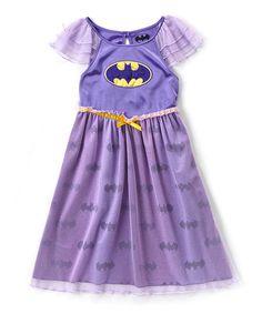 Look at this #zulilyfind! Bat Girl Nightgown - Toddler & Girls #zulilyfinds