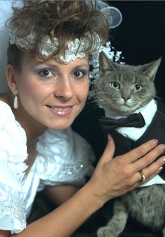 Just married! #Funny #Cats