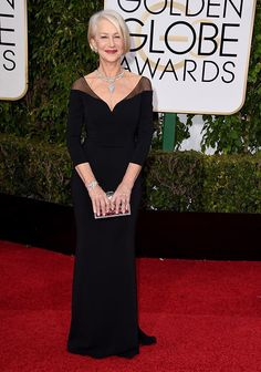 2016 Golden Globes, I will pin any picture of Helen Mirren...
