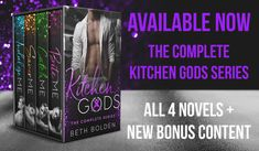 Special Offer - The Complete Kitchen Gods Series by Beth Bolden #KindleUnlimited God, Dios, The Lord