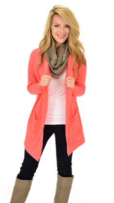 Gotta love a cardigan you can wear with jeans OR yoga pants! $42 at shopbluedoor.com