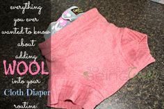 Cloth Diapering with Wool FAQs.. She seems to overlook what having a soaked diaper against the skin does for the skin itself, but other than that wool is a great leak protector.