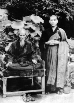 Venerable Master Xu Yun (aka Empty Cloud ) in Beijing, Guang Ji Monastery. Master Xu Yun (1840 – 1959) was a renowned Chinese #Chan master and one of the most influential #Buddhist teachers of the nineteenth and twentieth centuries. #Buddhism #Chan #Spirituality #Mysticism #God #Religion #China