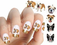 Nail Decals Water Slide Nail Transfers Nail par iMagicDesigns