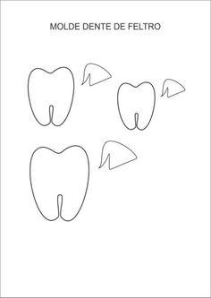 Molde dentinhos