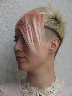 jezz new haircut 2 ways possible to style by wip-hairport, via Flickr