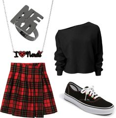 """nerdy"" by morgan-eva on Polyvore"