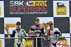 1st, 2nd, 3rd - Three SF riders on the Podium at Imola      Circuit - Three different brands, only one air filter! - Savadori, Tamburini, De Rosa
