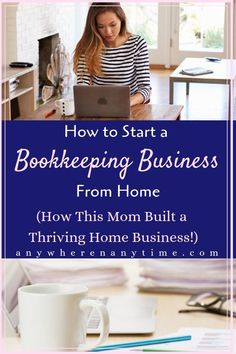 This Mom built a thriving home business by offering virtual bookkeeping services! In this interview you can determine if bookkeeping is right for you and what you can do to get started! #bookkeeping #homebusinessideas #workfromhomemom