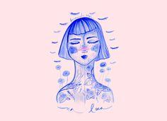 Traços soltos e desenhos delicados: a ilustradora-sonhadora Amanda Mol fala sobre seu fantástico trabalho - Follow the Colours