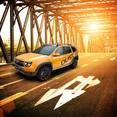 Renault Duster Détour is the fruit of an intense collaborative work between Renault Design Central Europe and a specialised South African design studio based in Johannesburg … think Mad Max with a touch of the Terminator. Throw in some Dakar dust 'n dirt and that's Renault Duster Détour for you! (c) Renault communication - Droits réservés Renault