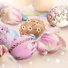 """Lautasliina """"Pääsiäismunat"""" 20 kpl– Decora House Easter Eggs, Napkins, Cake, Desserts, Food, House, Stationery Set, Pastel, Dekoration"""