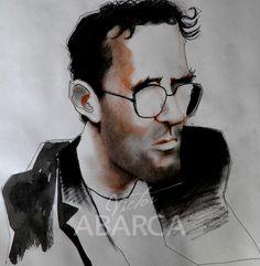Roberto Bolano    Victor-Abarca-Ilustraciones