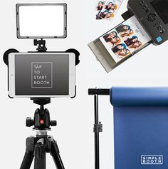 #simplebooth DIY photo booth