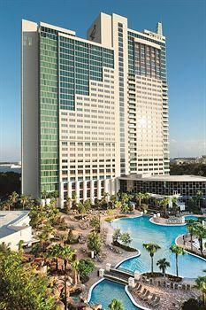 The Peabody Orlando, a 4.5-star resort on International Drive. From $200 per night.