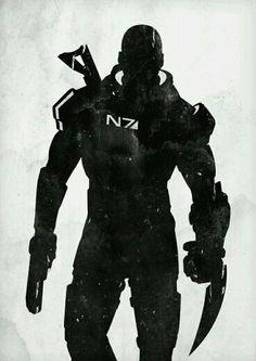 Shepard silhouette