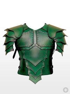 Dragon Rider Leather Armour green