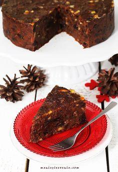 maniapieczenia: Daktylowe ciasto świąteczne (bez glutenu, cukru i laktozy) Dairy Free, Gluten Free, Nigella, Cranberries, Gingerbread Cookies, Deserts, Good Food, Food And Drink, Sweets