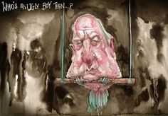 Who's An Ugly, David Rowe, Financial Review | Political Cartoons Australia