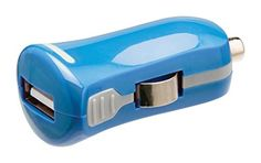 Valueline USB car charger USB A Socket12 V car connector blue VLMP11950L >>> To view further for this item, visit the image link. (Note:Amazon affiliate link)