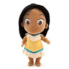 Disney-Store-Toddler-Princess-Plush-Anna-Elsa-Ariel-Belle-Olaf-Miles-D88-NWT-1PC