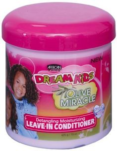 African Pride Dream Kids Olive Miracle Leave-In Conditioner, 15 oz *** Click on the image for additional details.