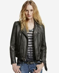A great leather jacket is hard to come by. This version by The Kooples is close to perfection.
