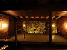 Hot Spring Bath at Unzen Fukudaya Ryokan | Japanese Guest Houses